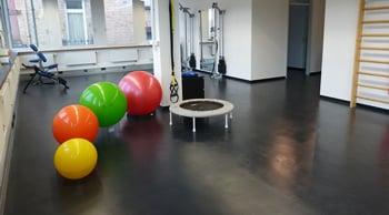 Übungsraum der Physio-Praxis B.Schwank in Stuttgart